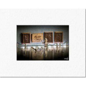 Samsofy œuvre d'art contemporain - Le musée du chocolat