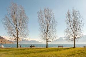 Gwenaël Bollinger œuvre d'art contemporain - Lac Leman