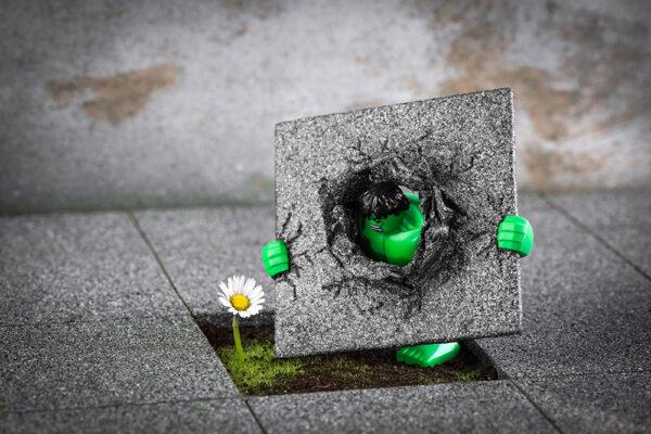 Hulk - Power Flower - Samsofy