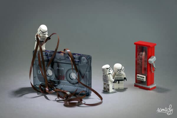 Jedi - Star Wars - Samsofy Street Art