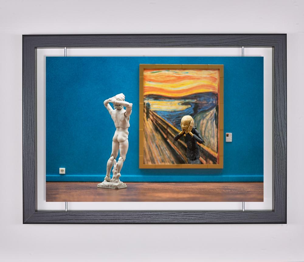 Œuvre d'art contemporain - Samsofy - Le cri Munch