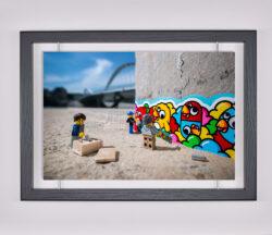 Œuvre d'art contemporain - Samsofy - Street Art Birdy Kids