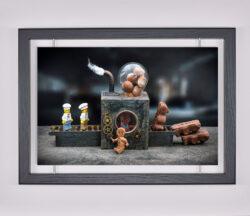 Œuvre d'art contemporain - Samsofy - Nounours en chocolat