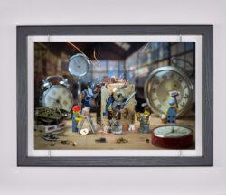 Œuvre d'art contemporain - Samsofy - La Cité du Temps