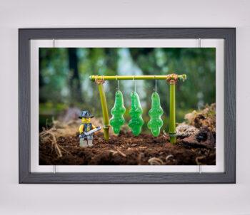 Œuvre d'art contemporain - Samsofy - Crocodile Dundee