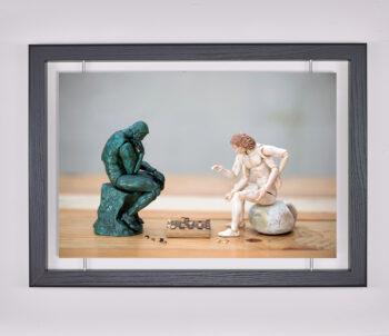 Œuvre d'art contemporain - Samsofy - Jeu de dames