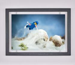 Œuvre d'art contemporain - Samsofy - Ski