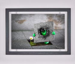 Œuvre d'art contemporain - Samsofy - Hulk