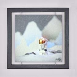 Œuvre d'art contemporain - Samsofy - Astronaute