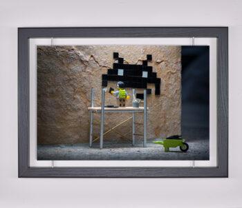 Œuvre d'art contemporain - Samsofy - Invider