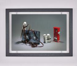 Œuvre d'art contemporain - Samsofy - Jedi