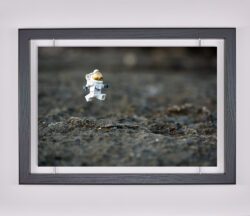 Œuvre d'art contemporain - Samsofy - Lunar