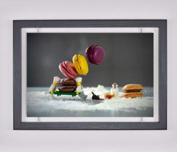 Œuvre d'art contemporain - Samsofy - Tableau des macarons