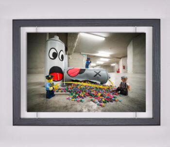 Œuvre d'art contemporain - Samsofy Lego - Oak Oak
