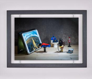 Œuvre d'art contemporain - Samsofy - Super-héros