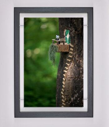 Œuvre d'art contemporain - Samsofy - Smart Panda