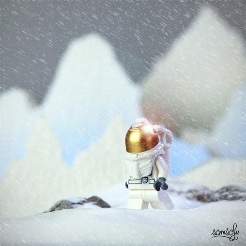 Astronaute Interstellar