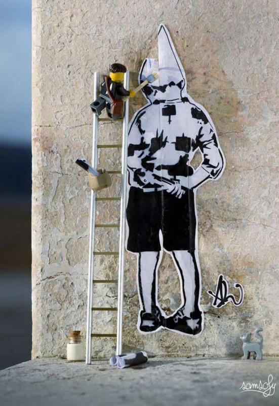 Street art Aurélien