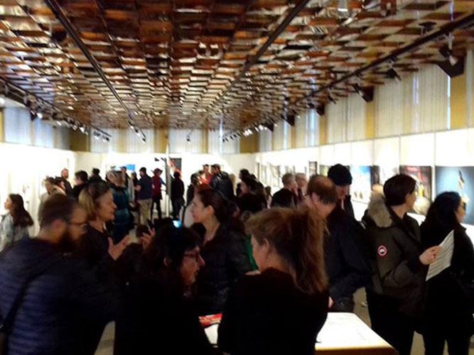 Exposition - Vernissage en Suisse à la galerie de l'Essor