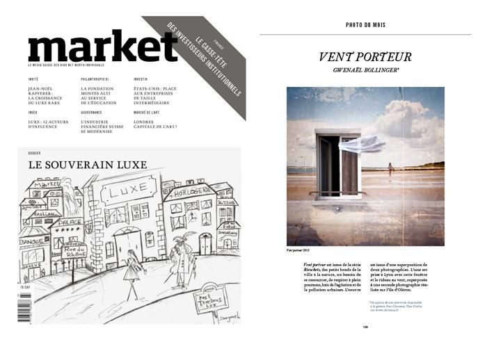 Parution Market Magazine Finance et Economie