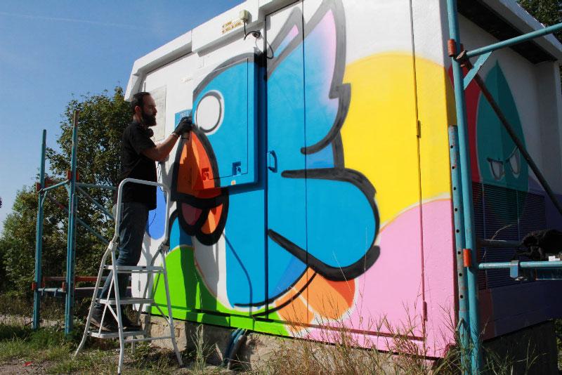 Artiste Pec Birdy Kids interviewé par le Progrès