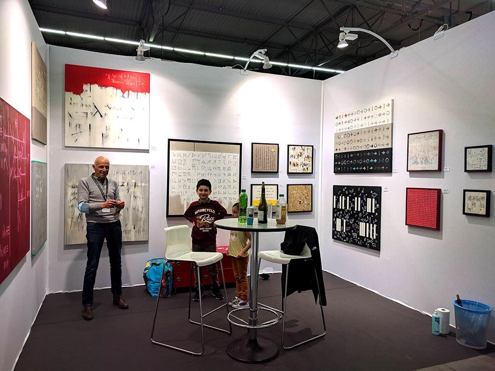 Jean-Claude Grobon - ARtiste peintre en exposition à la foir Art3F de la Roche sur Foron