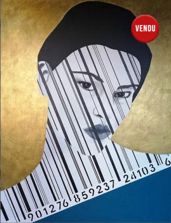 Caroline David - Tableau sans nom - Acrylique sur toile