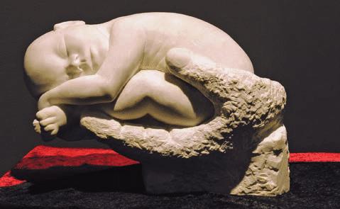 Sculpture originale de l'artiste Jean-Louis Gabirot