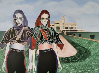 œuvre d'art Artiste Caroline David - Thème de la transhumance