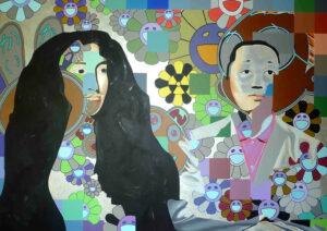"""Takashi Murakami à Louis XIV : """"Tu penses que le gros lapin rose serait mieux dans la Galerie des glaces"""""""