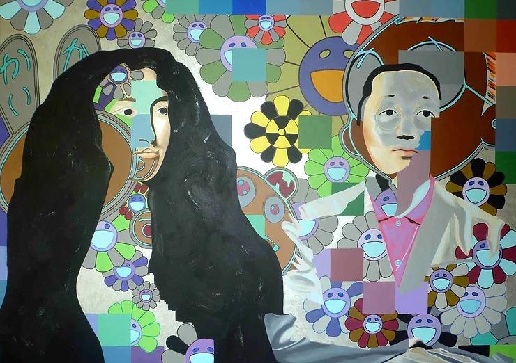 Takashi Murakami à Louis XIV :