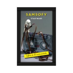 Coffret carte postale thème Star Wars de Samsofy