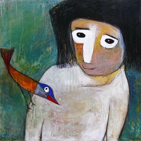 L'enfant et l'oiseau de Pierre Bejoint