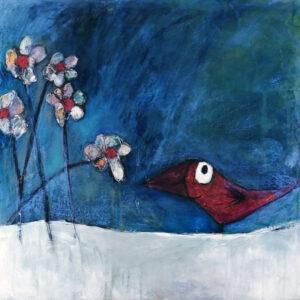 L'évasion - L'oiseau et la fleur