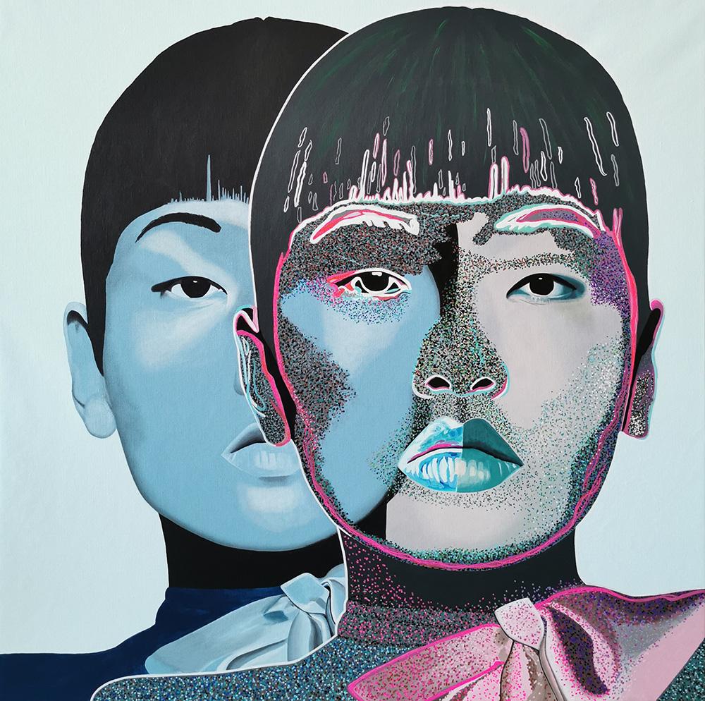 Nouveau tableau de Caroline David - Acrylique sur toile