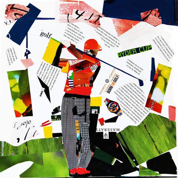 Photographie et collage de Claude Cruz